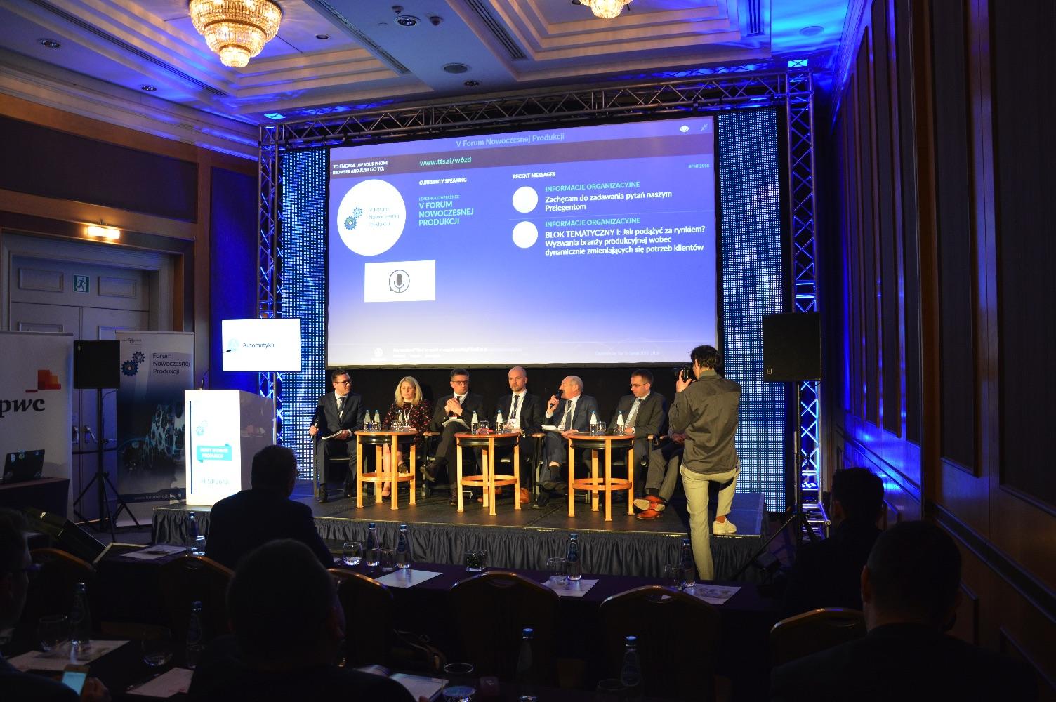 Forum Nowoczesnej Produkcji 2018 debata