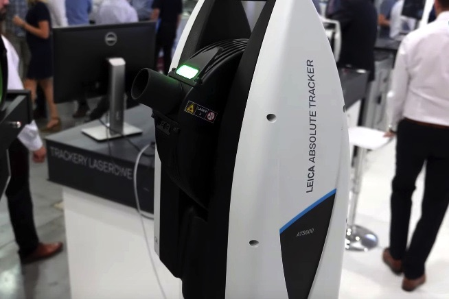 tracker laserowy do pomiarów
